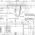 Kitchen drawings for construction