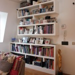 Quirky bookshelves and practical too