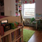 Another view of younger child's bedroom