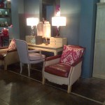A dressing table area - great for doing vintage make up!