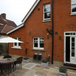 External seating area and patio