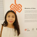 Looking very Chinese in front of Memories of China