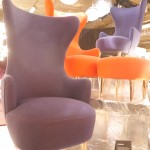 blue and red wingback